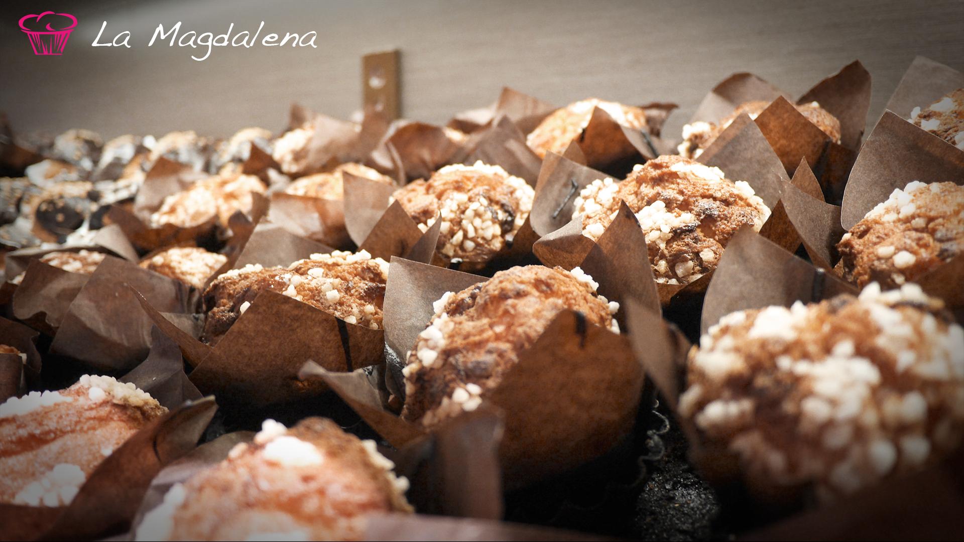Muffins chocolate blanco