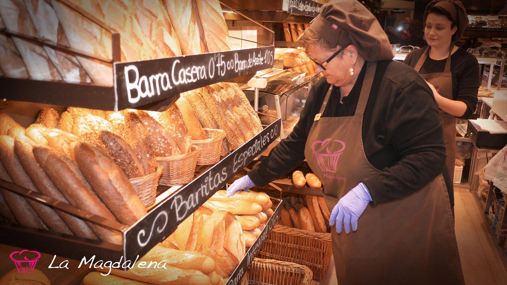Preparando el pan