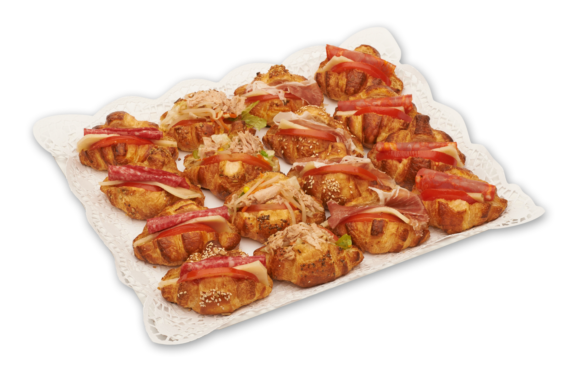 Mini croissants variados